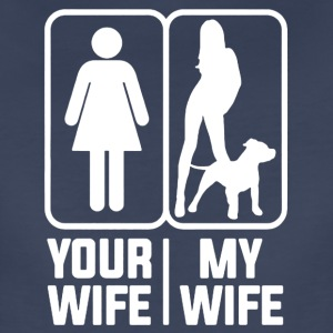 My Wife Pitbull Mom Shirt - Women's Premium T-Shirt