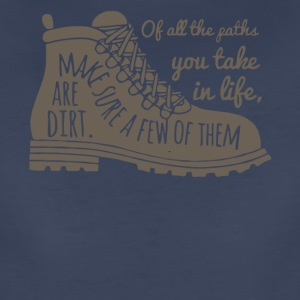 All The Paths You Take In Life Hiking Shoe T Shirt - Women's Premium T-Shirt