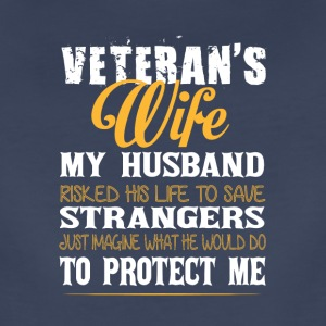 Veteran's Wife Super Veteran T Shirt - Women's Premium T-Shirt