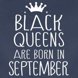 Black queens are born in September - Women's Premium T-Shirt
