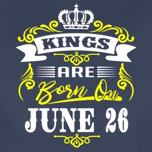 Kings are born on JUNE 26 - Women's Premium T-Shirt
