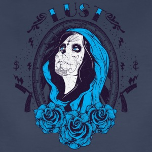 LUST el muerta woman - Women's Premium T-Shirt