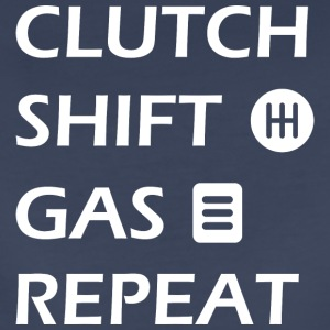 gas clutch shift repeat - Women's Premium T-Shirt