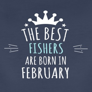 Best FISHERS are born in february - Women's Premium T-Shirt