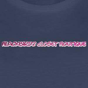 Blackbirdz closet boutique official sports bottle - Women's Premium T-Shirt