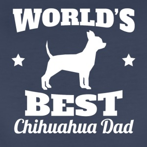 Worlds Best Chihuahua Dad - Women's Premium T-Shirt