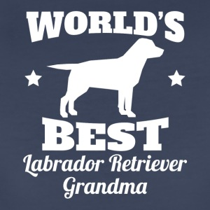 Worlds Best Labrador Retriever Grandma - Women's Premium T-Shirt