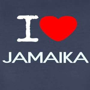 I LOVE JAMAIKA - Women's Premium T-Shirt