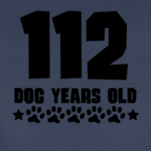 112 Dog Years Old Funny 16th Birthday - Women's Premium T-Shirt