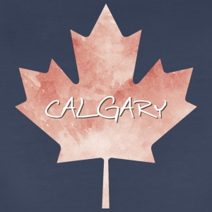 Maple Leaf Calgary - Women's Premium T-Shirt