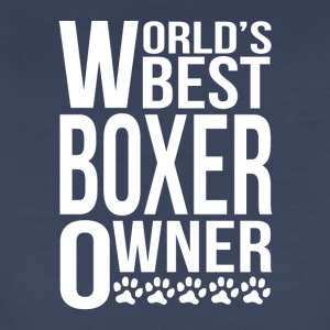 World's Best Boxer Owner - Women's Premium T-Shirt