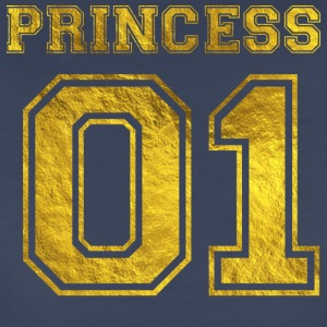 Princess_01_gold_1 - Women's Premium T-Shirt