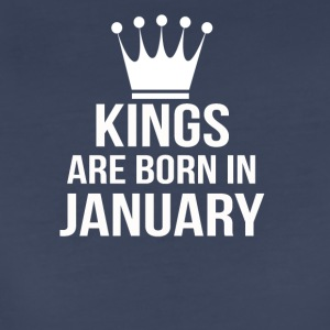 kings are born in january - Women's Premium T-Shirt