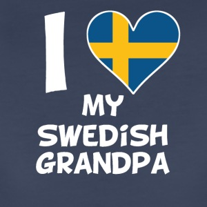 I Heart My Swedish Grandpa - Women's Premium T-Shirt