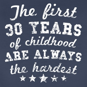 30 Years Of Childhood 30th Birthday - Women's Premium T-Shirt