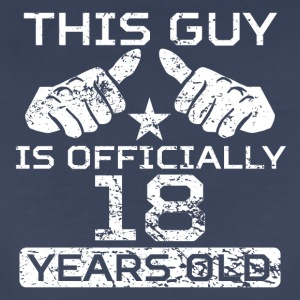 This Guy Is Officially 18 Years Old - Women's Premium T-Shirt