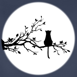 The Cat and The Moon - Women's Premium T-Shirt
