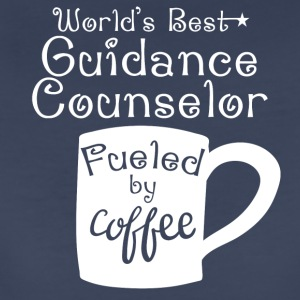 World's Best Guidance Counselor Fueled By Coffee - Women's Premium T-Shirt