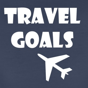 Travel Goals - Women's Premium T-Shirt