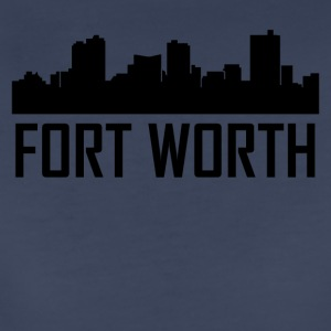 Fort Worth Texas City Skyline - Women's Premium T-Shirt