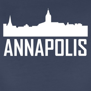 Annapolis Maryland City Skyline - Women's Premium T-Shirt