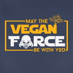 May the vegan force be with you - Women's Premium T-Shirt