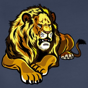 laying_angry_lion - Women's Premium T-Shirt