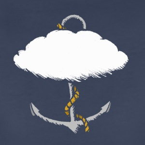 Cloud Anchor White - Women's Premium T-Shirt