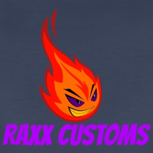 Fire RAXX CUSTOMS logo orange and purple - Women's Premium T-Shirt
