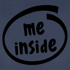me inside (1822A) - Women's Premium T-Shirt