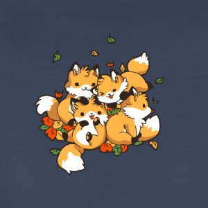 Playful Foxes - Women's Premium T-Shirt