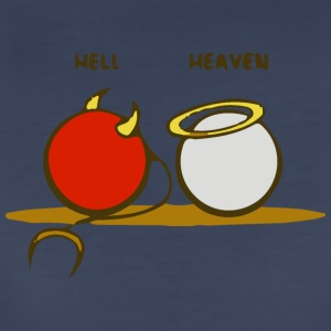 Heaven and Hell - Women's Premium T-Shirt