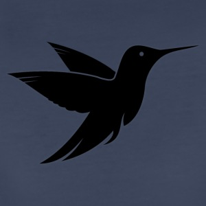 Black Bird Design - Women's Premium T-Shirt