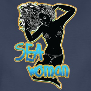 SEA_woman_black - Women's Premium T-Shirt