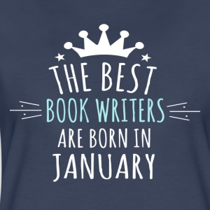Best BOOK_WRITERS are born in january - Women's Premium T-Shirt