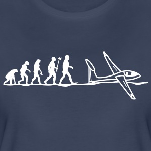 evolution glider pilot - Women's Premium T-Shirt