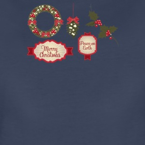 Christmas Elements 8 - Women's Premium T-Shirt