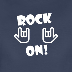 Rock On (White) - Women's Premium T-Shirt