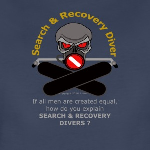 Search And Recover Diver - All Men Are Not Equal - Women's Premium T-Shirt