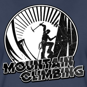 Mountain Climbing - Women's Premium T-Shirt