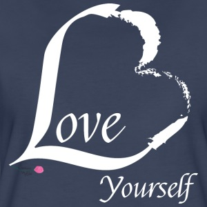 Love Yourself in white - Women's Premium T-Shirt