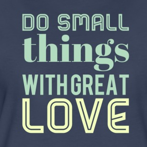 Do small things green - Women's Premium T-Shirt