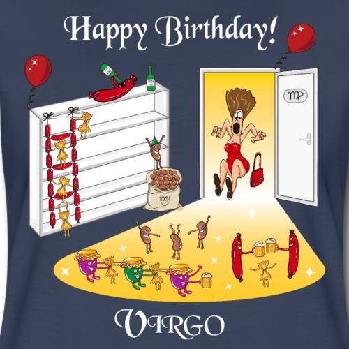 Virgo Zodiac Sign | Birthday Party - Women's Premium T-Shirt