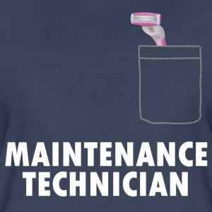 Pussy Maintenance Technician - Women's Premium T-Shirt
