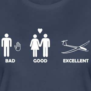 bad good excellent soaring - Women's Premium T-Shirt