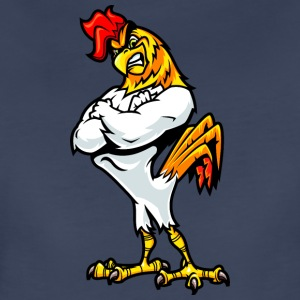 muscular_rooster_white - Women's Premium T-Shirt