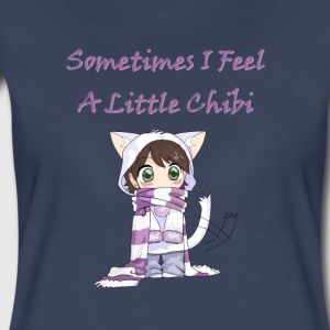 Little cute chibi girl kids - Women's Premium T-Shirt