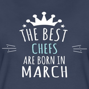 Best CHEFS are born in march - Women's Premium T-Shirt