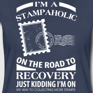 I'm A Stampaholic On The Road To Discovery - Women's Premium T-Shirt
