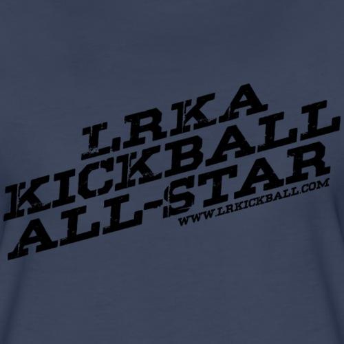 All Star Blacvk - Women's Premium T-Shirt
